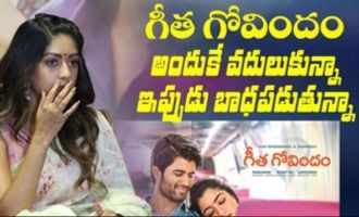 I regret not doing Geetha Govindam Anu Emmanuel