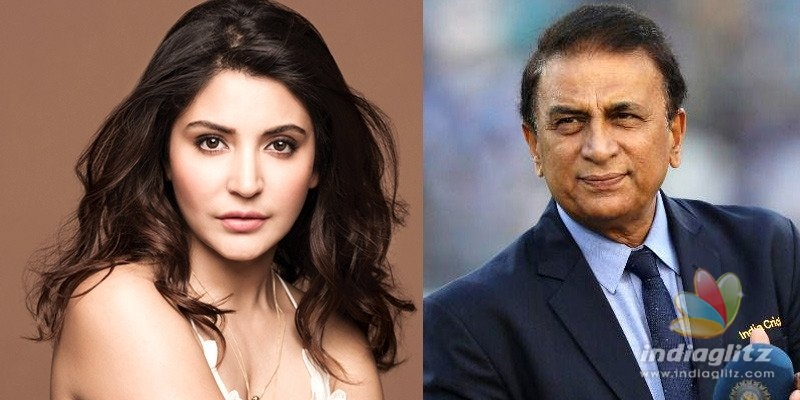 Anushka Sharma gives a class to Sunil Gavaskar over bad commentary