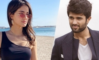 Ananya has fun working with Vijay Deverakonda