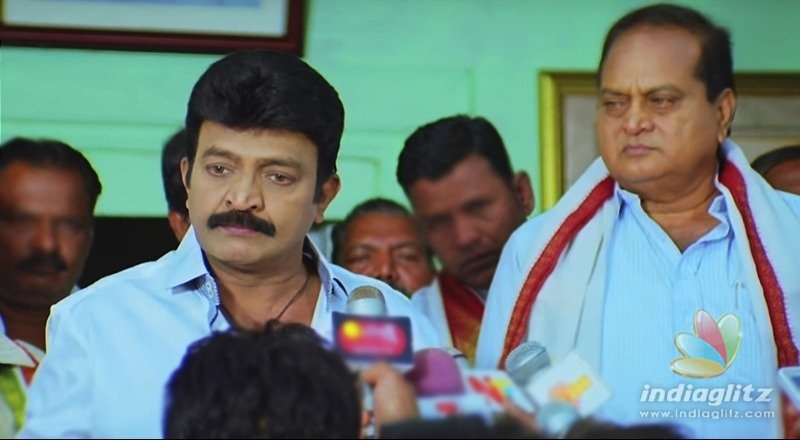 Arjuna Teaser: Rajasekhars angry warning to politicians