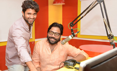 'Arjun Reddy' Song Launch @ Radio Mirchi