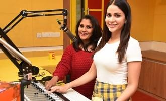 Lavanya Tripathi @ Radio Mirchi For 'Arjun Suravaram' Song Launch