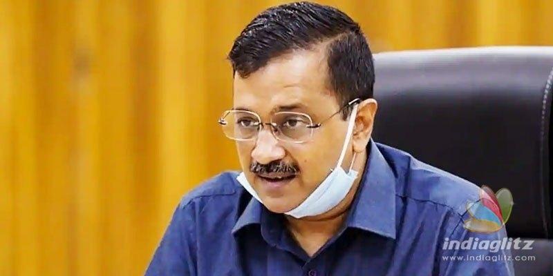 Delhi CM Kejriwal announces Rs 15 Cr donation to Telangana