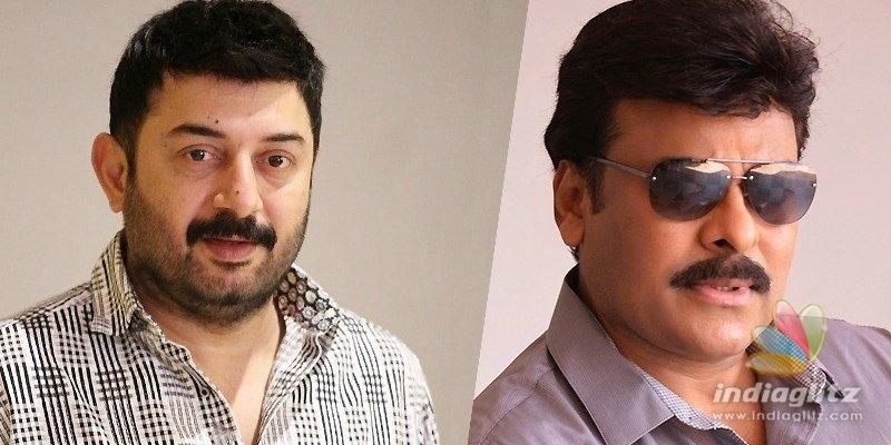 Arvind Swamys voice for Megastar Chiranjeevi