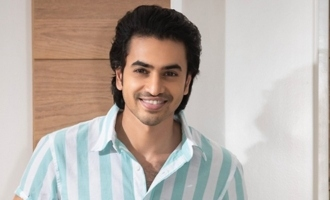 Ashok Galla's movie is done with first schedule