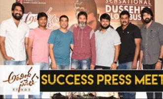 Aravindha Sametha Success Press Meet