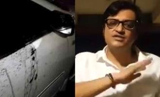 Attack on journalist Arnab Goswami