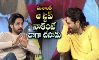 Sushant did that step better than me: Allu Arjun