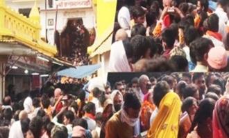 Mass gathering at Ayodhya temple, Netizens outrage