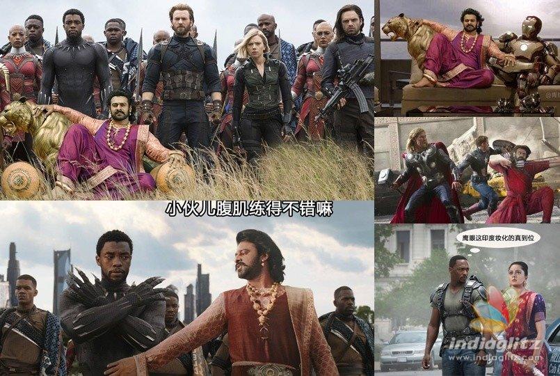 Fans create Baahubali-Avengers series