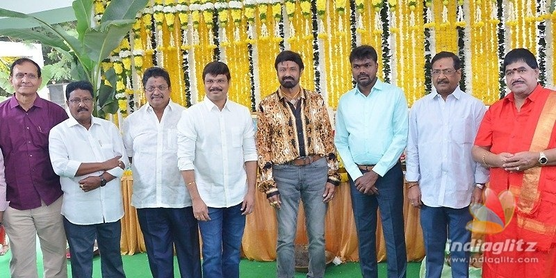 Balakrishna-Boyapatis movie launched