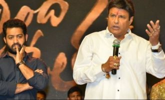 Only I & Jr NTR can do such movies: Balakrishna
