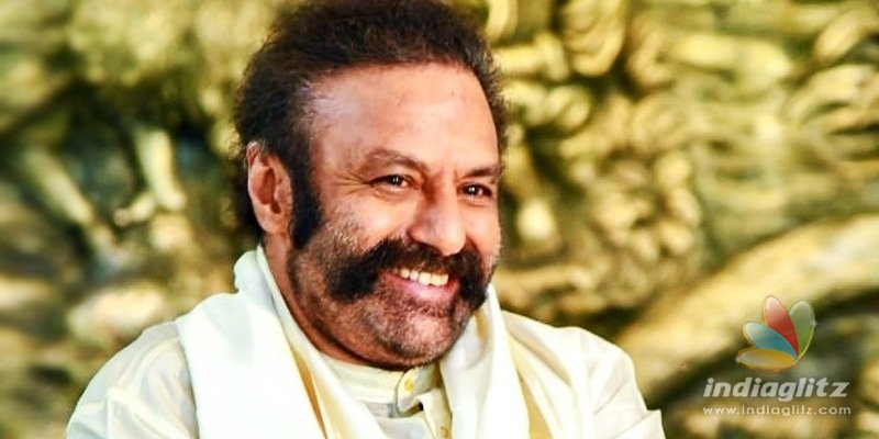 Balakrishna accepts that his singing was not good!