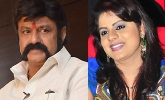 TV anchor Swetha Reddy against Balakrishna