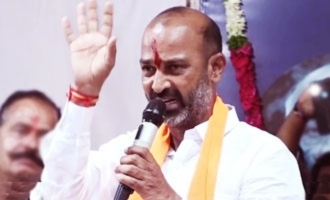 People have taught KCR's son a fitting lesson: Bandi Sanjay