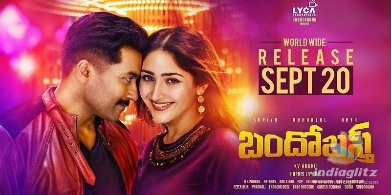 Suriyas Bandobast to release on September 20