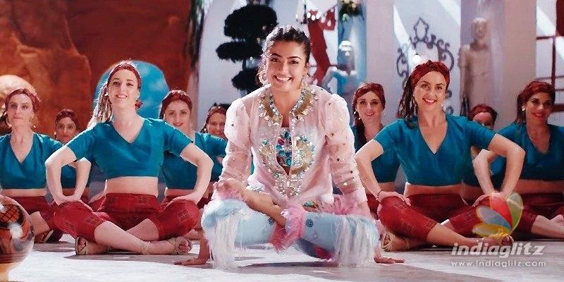 Whattey Beauty: Bheeshma & Rashmika nail it with dance moves