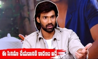 That's why I have Done this movie : Sai Srinivas Bellamkonda