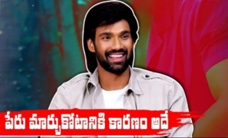 That's why I changed my name : Sai Srinivas Bellamkonda