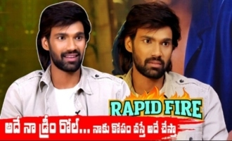Rapid Fire With Sai Srinivas Bellamkonda