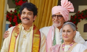Pic Talk: Big B shoots with Nagarjuna & others