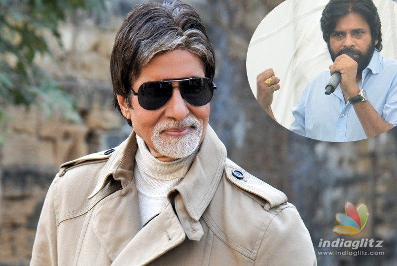 Big B loves Pawan Kalyans words!
