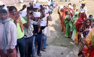 బిహార్ తొలిదశ అసెంబ్లీ ఎన్నికల్లో 53.54 శాతం ఓటింగ్