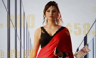 Miss India Urvashi Rautela's 'Black Rose' created by Sampath Nandi