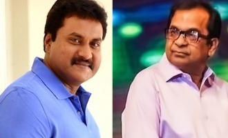 Brahmanandam, Sunil acting with Sunny Leone