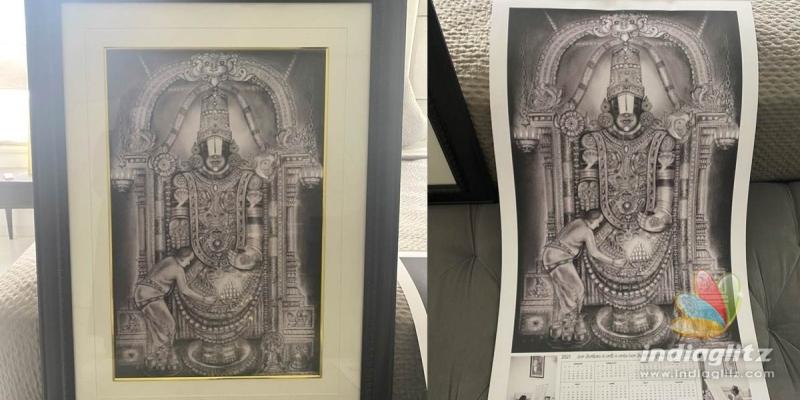 Brahmanandams devotional art work bowls over Netizens