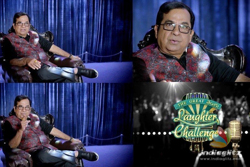 Brahmanandam as TV show host challenges you
