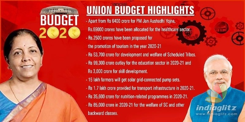 Union Budget: Income Tax rates reduced & other big highlights