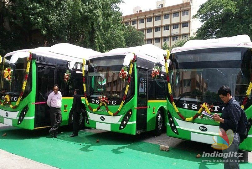 Electric buses kickstarted in Hyderabad