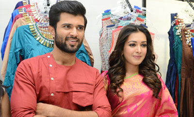 Catherine , Vijay Devarakonda Launches KLM Fashion Mall