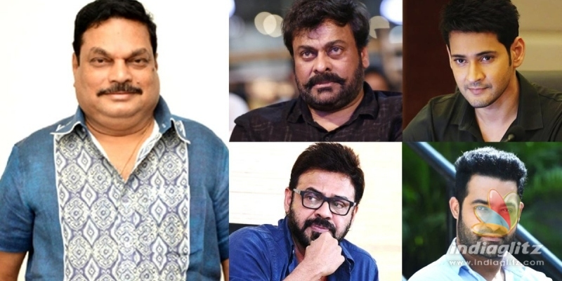 Chiranjeevi, Venkatesh, Mahesh Babu, Jr NTR & others condole BA Rajus death