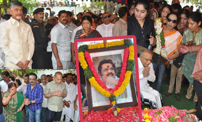 AP CM Chandrababu Naidu & Other Politicians Pay Homage to Dasari