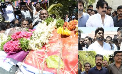 Pawan Kalyan, NTR & Allu Arjun Pay Last Respect To Dasari Narayana Rao