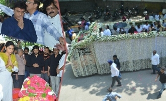 Celebs @ Kodi Ramakrishna Final Journey