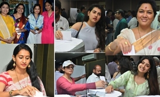 Celebs Cast Their Votes @ MAA Elections 2019 (Set-02)