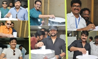 Celebs Cast Their Votes @ MAA Elections 2019 (Set-01)