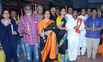 Telugu Film Industry 'Disha' Candle Rally