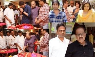 Celebs Pay Last Respects To Vijaya Nirmala