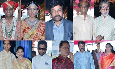 Celebs @ Subbarami Reddy Grandson Wedding
