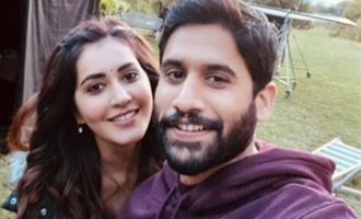 Selfie Talk: Naga Chaitanya, Raashi Khanna on 'Thank You' set