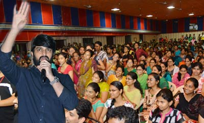 'Chalo' Promotional Tour At Eluru , Bhimavaram