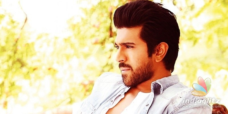 Bulked up Ram Charan spotted, clicked!