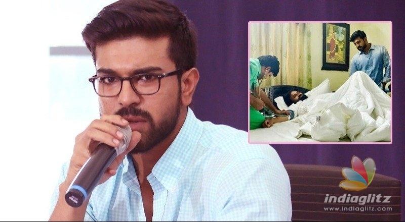 Kalyan babai not to rest despite doctors advice: Ram Charan