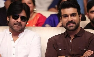 Ram Charan's moral support for Pawan Kalyan