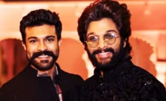 Ram Charan, Allu Arjun share vibes over a hamper