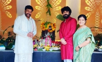 Pic Talk: Ram Charan with Chiranjeevi and mother is special